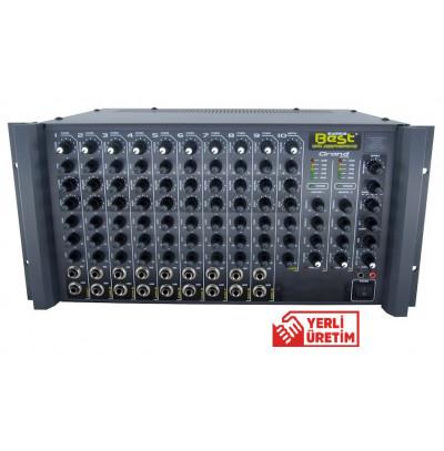Best Acoustic AN8200RST Amfi Mikser 8 Kanal 2x200Watt