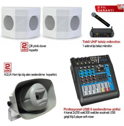 Okul Ses Sistemleri Paket 18