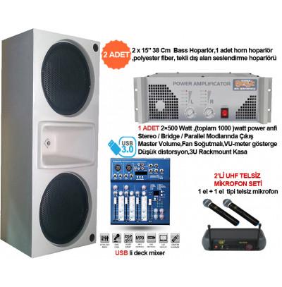 Okul Ses Sistemleri Paket 33