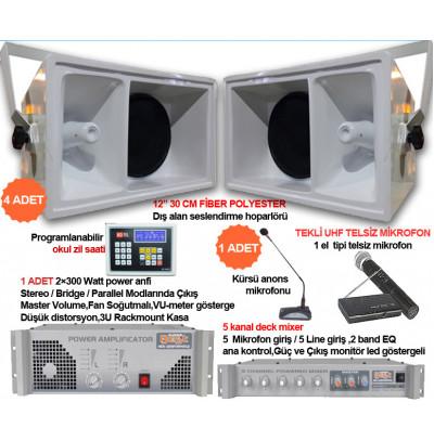 Okul Ses Sistemleri Paket 34