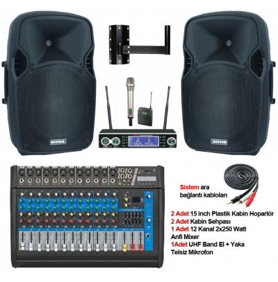 Tiyatro Salonu Ses Sistemi Paket 6