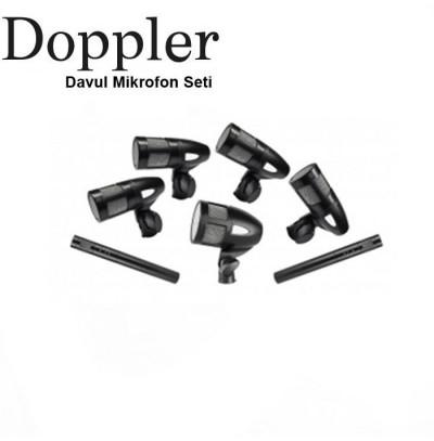 Doppler BULLET700 7'li Davul Mikrofon Seti