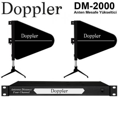Doppler DM2000 Telsiz Mikrofon Mesafe Yükseltici