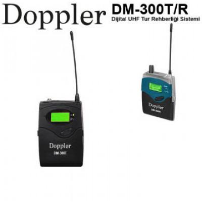Doppler Dm300T/R Seyyar Tur  Rehberleri için Verici ve Alıcı