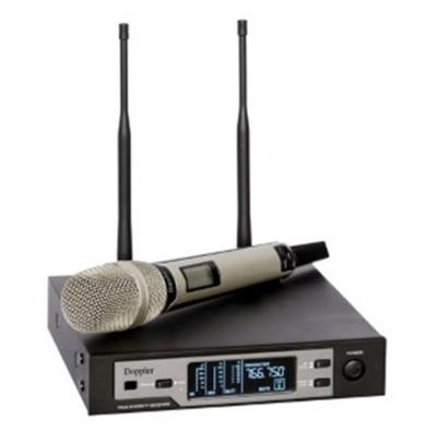 Doppler Dm801H Siyah Tek El Tipi Telsiz Kablosuz Mikrofon