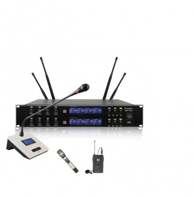 Doppler DMT8000 Set Kablosuz Mikrofon