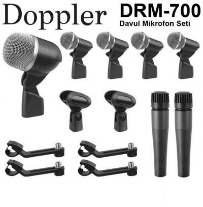 Doppler DRM700 7'li Davul Mikrofon Seti