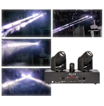 Eclips Duo Beam W Beyaz Led Robot Effekt Işık Sistemi