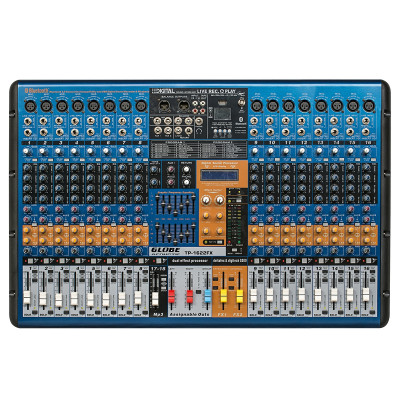 Globe Acoustic Gtp1622FX - 16 Kanal Anfili Mikser 2x750 Watt