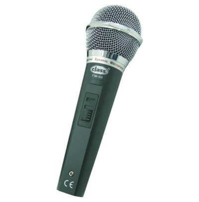 Gold Audio Fm-68 Dinamik Metal Kablolu Mikrofon