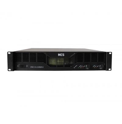 Mcs 2001 Power Amplifikatör