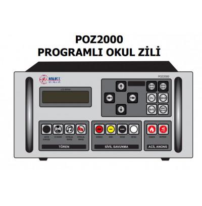 Mert Poz2000 Programlı Okul Zili