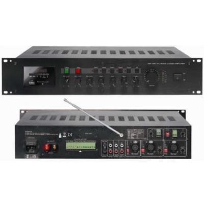 Mickle VBP-120E Hat Trafolu 100 Volt Amfi, 5 Zone, 240 Watt