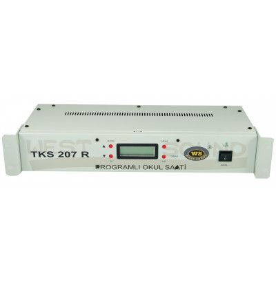 West Sound Tks 207 R V2 Zil Saati Rack Tipi USB Girişli
