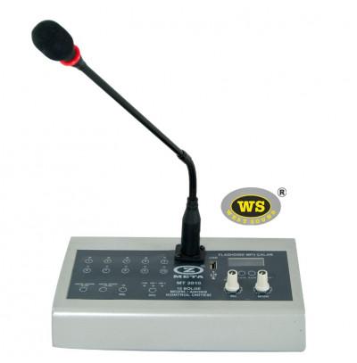 West Sound MT2010 Mikrofon Müzik Konsolu 10 Bölge