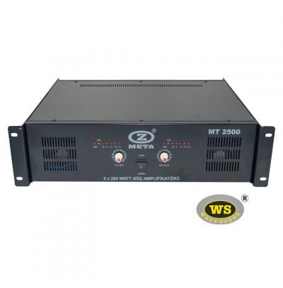 West Sound MT2500 Stereo Güç Amfilikatörü Trafolu 500W