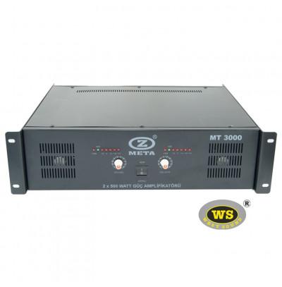 West Sound MT3000 Stereo Güç Amfisi Trafolu 1000W