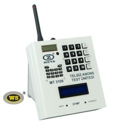 West Sound MT3109 Kablosuz Anons Test Ünitesi