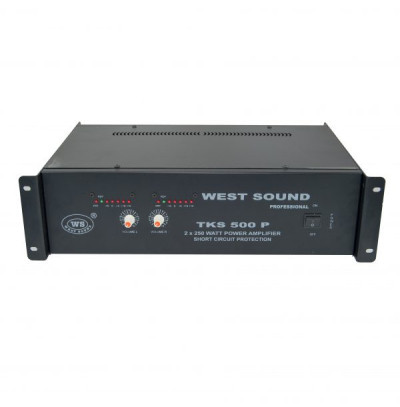 West Sound Tks 500 P Tr Stereo Power Amfi 2x250 Watt