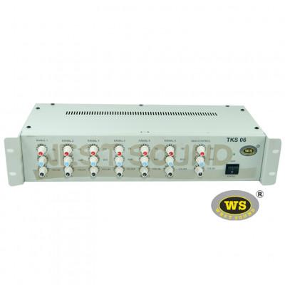 West Sound TKS06 Mikser 6 Kanal (Auto Mute)