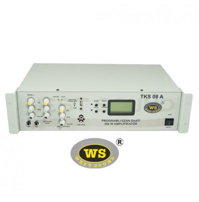 West Sound TKS08A Programlı Ezan Saati Kendinden Anfili