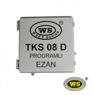 West Sound Tks 08D Direk Tipi Programlı Ezan Saati
