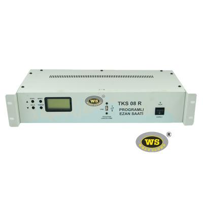 West Sound TKS08R Programlı Ezan Saati Rack Tipi