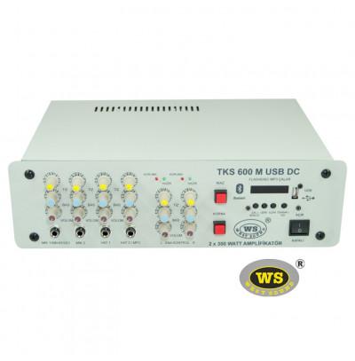 West Sound TKS600M USB Araç Üstü Ses Sistemi Amfisi