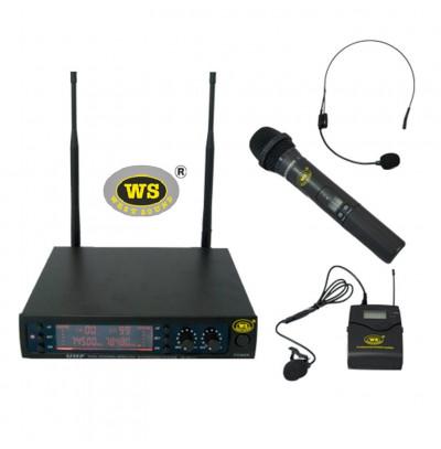 West Sound TM200 EY Kablosuz Mikrofon Seti El+Yaka