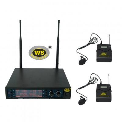 West Sound TM200 YY Kablosuz Mikrofon Seti İkili Yaka