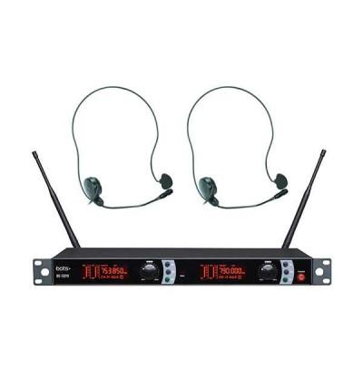 BOTS BE-5019 H UHF Çift Kafa Telsiz Mikrofon