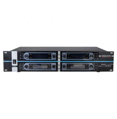 DECON DM-8000 Kablosuz Mikrofon Alıcısı