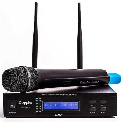 Doppler Dm 200h Tek El Telsiz Mikrofon